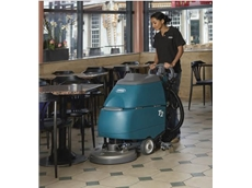Compact T-Series Scrubber Dryers from Tennant