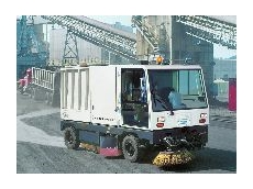 Dust controlling power sweeper