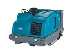 M30 scrubber sweeper available from Tennant