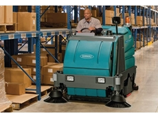 Ride On Sweepers  - 8300 Battery Powered Ride-on Sweeper-Scrubber