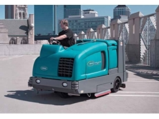 Ride On Sweepers  - M30 Large Integrated Ride-on Scrubber-Sweeper
