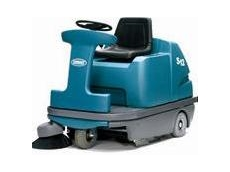 S12 ride on sweepers provided by Tennant