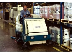 Sweeper-scrubber hopper triples capacity