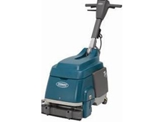 The T1 compact floor scrubber
