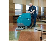 T3e Walk-Behind Floor Scrubbers from Tennant