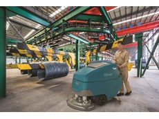Industrial-Strength Walk-Behind Scrubbers