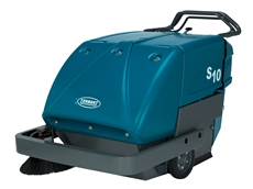 Tennant Company releases a new  S10 industrial grade walk behind sweeper