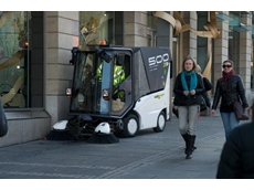 Tennant Gains Traction with Green Machines 500ze Zero Emission Street Sweepers
