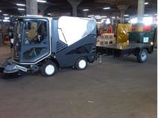 Tennant Green Machines Used in Men in Black 3