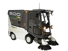 Green Machines 500ze street sweepers