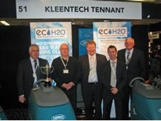 Tennant's New Zealand distributor Kleentech with the Innovation award