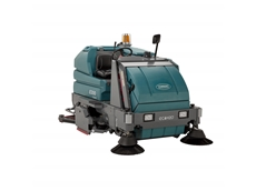 Unique new colour scheme for industrial scrubbers and sweeper scrubbers enhances Tennant's brand identity