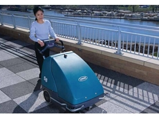 Walk Behind Sweepers  - S8 Wide Area Battery Sweeper