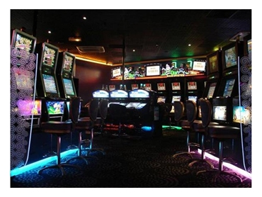 Enhance gaming rooms with unsealed LED lightings on kick boards to create an eye catching space