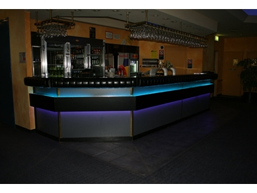 Choose from a range of soft and bright lighting colours and effects to enhance a space