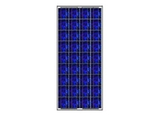 SolarQuez TKC74SP130WPP1 PV solar modules have silicon cells and low-iron toughened galss