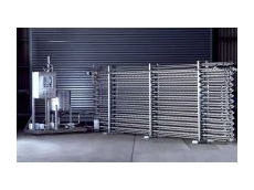 Dimpleflo tubular heat exchanger.