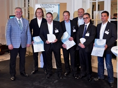 Superlift 3800 lattice boom crawler crane received the 2013 Rheinland-Pfalz Design Award