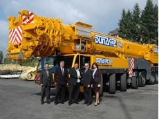 The Terex AC 500-2 crane