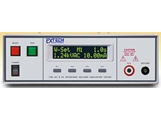 The Extech 7100 series economical HiPot / insulation tester
