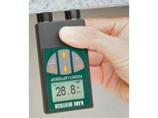 Pocket LEPTOSKOP coating thickness measurement equipment features a large digit display