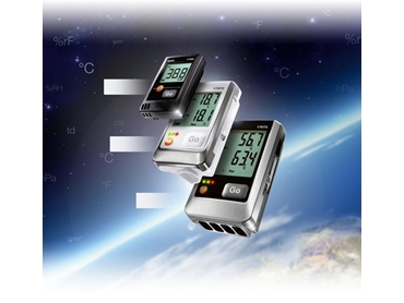 Data loggers for the measurement of temperature and humidity