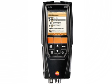 testo 320 is simple to operate and provides an extensive range of measurements