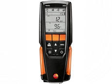 testo 310 has a long battery lifetime of up to 10 hours