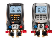 Electronic Refrigerant Gauges to Measure, Analyse and Document from testo