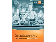 The free guide presents an HACCP compliant checklist that explains the process in detail