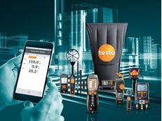 Monitoring building facilities with Testo tools