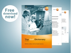 New GxP Dictionary explaining key terminology for GMP compliance