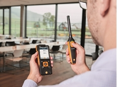 The Testo 440 IAQ data logger comes in two model versions