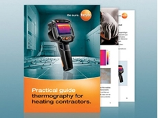 Testo has introduced a new practical guide for building contractors