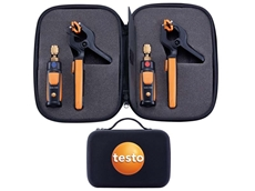 The testo smart refrigeration set can completely eliminate refrigerant loss