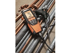 The Testo 320 LX comes with a five-year warranty, valid until April 30, 2018