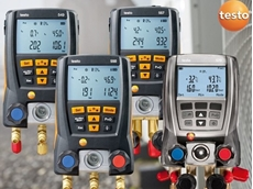 Testo digital refrigerant gauges deliver multiple advantages