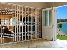 ATDC S02 expanding grille doors open up the home to a new level of security