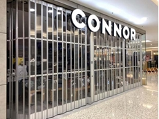 RAG's Connor store featuring ATDC's slimline panel folding doors