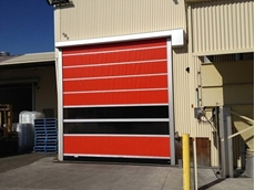 ATDC's new Australian-made high speed doors feature the latest European access control technology,