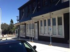 ATDC's Security 365 security shutters installed at Bondi Beach boutique