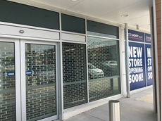 ATDC's commercial roller grilles at the First Choice Liquor store