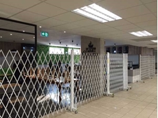 ATDC's expandable security doors at the Port Moresby International Airport, Papua New Guinea