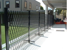 ATDC's mobile trackless portable barrier is certified for use in the Temporary Fencing Industry