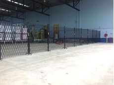 ATDC security barriers at ABC Tissues