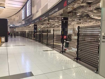 Atdc Security Doors And Shutters Helping Airport Retailers