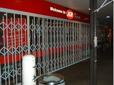 ATDC security doors at IGA