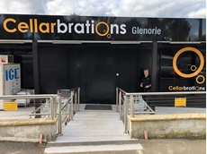 ATDC's recent RS3 security shutter installation at the new Cellarbrations store in Glenorie
