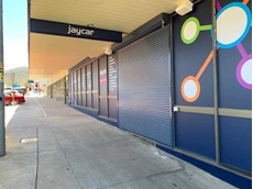 ATDC's heavy duty extruded RS3 aluminium security shutters at Jaycar