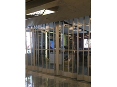 ATDC's commercial folding doors installed for Napoleon Perdis store
